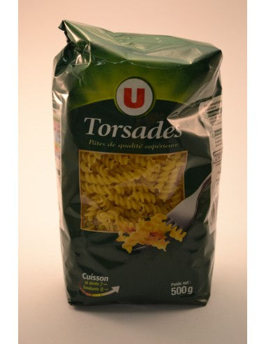 500G TORSADE Q.SUPERIE.CELLO U - Pâtes - Riz & Féculents