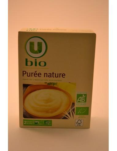 PUREE NATURE U BIO 2X125G 250G - Pâtes - Riz & Féculents