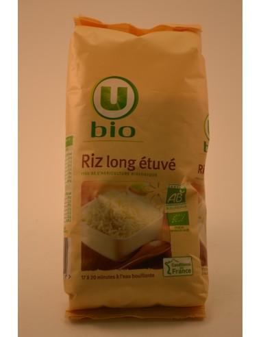 RIZ LONG ETUVE U BIO 500G - Pâtes - Riz & Féculents