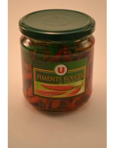 PIMENTS ROUGES U BOCAL 27CL - Sauces