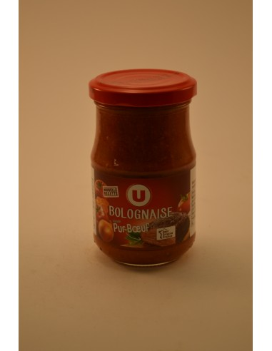 200G SAUCE BOLOGNAISE U - Sauces