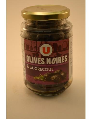 250G OLIVES NOIRES GRECQUES U - Sauces
