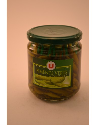 PIMENTS VERTS U BOCAL 27CL - Sauces