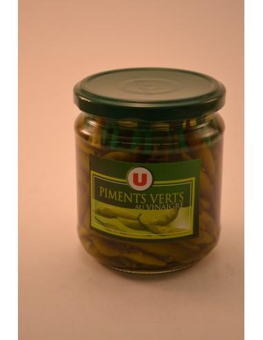 PIMENTS VERTS U BOCAL 27CL - Sauces