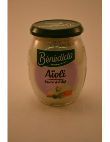 260G BOCAL SAUCE AIOLI BENEDIC - Sauces