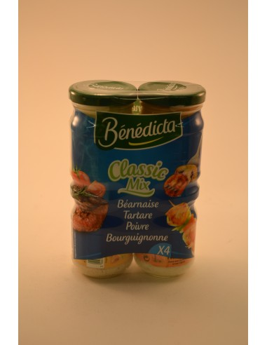 LOT 4 SCES TRADITION BENEDICTA - Sauces
