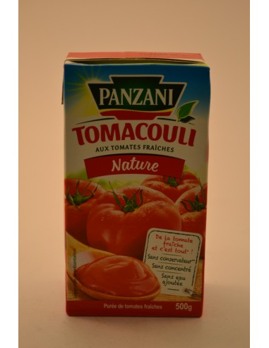 500G SCE TOMACOULI NATURE PANZ - Sauces